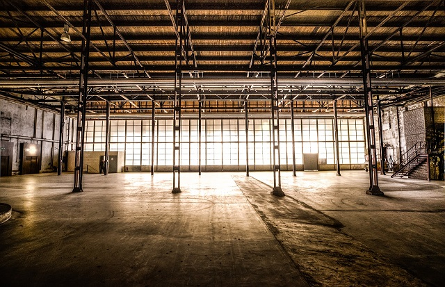 Image of industrial premises. Aussie Pest Commercial provides full pest control services for industrial clients.
